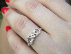 BP Double Infinity Ring