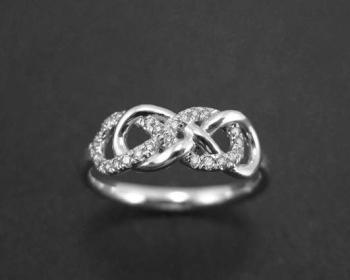 Ben Double Infinity Ring