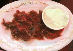Basta -beef Caparcio