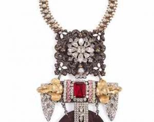 Unique by Galit -Redstone Raj necklace1