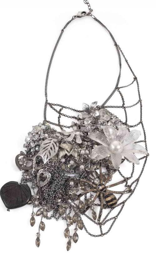 Unique by Galit -Treasure Net necklace