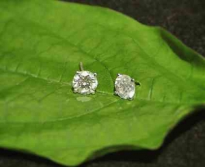 B&G Diamond earrings