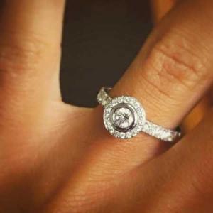 B&G Jewelers diamond-Roundring