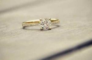 B&G Jewelers diamond-ring in yellow gold