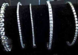 B&G Jewelers diamond tennis bracelets