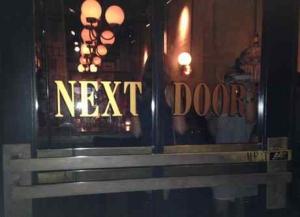 Next Door Bar - Entrance