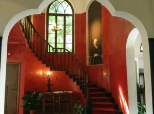 Bialik House -Red Room