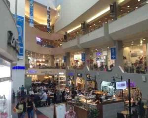 Dizengoff Center -inner shopping -Tel Aviv