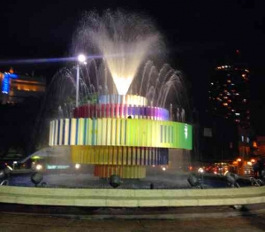 Dizengoff Square-Fountain