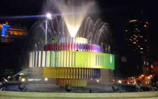 Dizengoff Square-Fountain