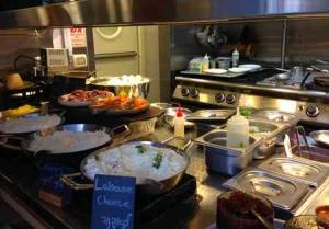 Best Breakfast Mashya Restaurant Buffet-Cheeses -Tel Aviv