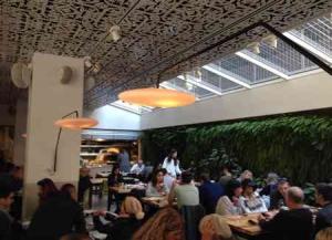 Mashya Restaurant-Interior wall