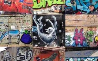 Tel Aviv-Grafitt & Streetart -6 pics