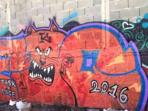 Tel Aviv-Grafitt & Streetart -2016
