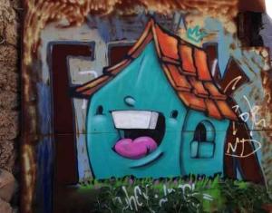Tel Aviv-Grafitt & Streetart -house