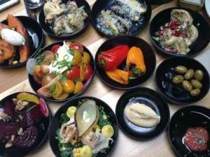 Tel-Aviv Lunch -Mashya- mezze