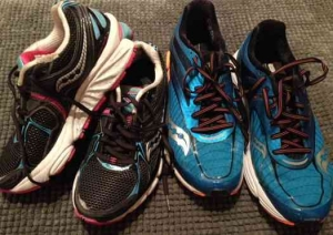 2016 Tel Aviv Marathon- Running Shoesx2
