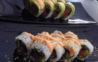 Best Kosher Sushi in Tel Aviv-Sushi platers
