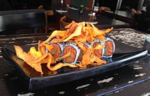 Best Kosher Sushi in Tel Aviv-Sweet Potato Sushi