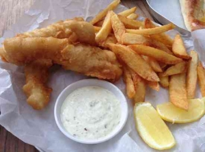 Biciicletta -Garden Bar Tel Aviv - Fish & Chips