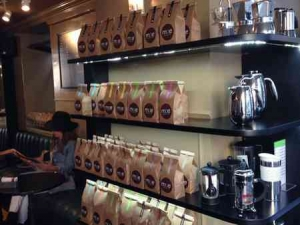 Tel Aviv Cafe & Coffee-Mae-Display unit