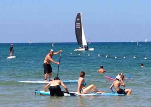 Best Beaches in Tel Aviv- Tel Baruch Beach