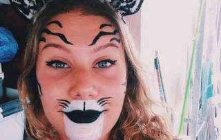 Purim 2016 in Tel Aviv- Leopard costume
