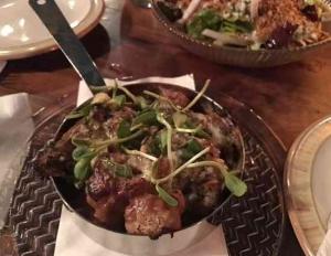 Dalida Bar -Tel Aviv-Planch dish