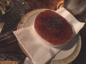 alida Bar -Tel Aviv-Savoury creme dish