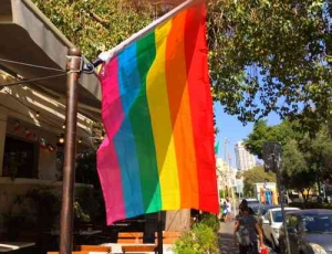 Gay Pride Parade2016-Flag