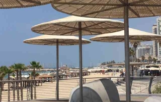 Tel-Aviv Beaches-Frishman Beach