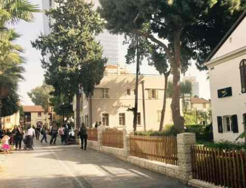 Sarona Complex in Tel Aviv