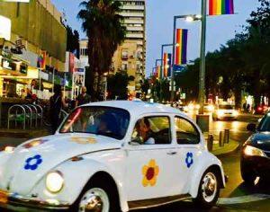 Tel Aviv Pride 2017-car