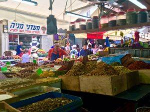 ShukHaCarmel-Spice stall