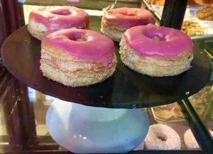 Chanukah 2017 in Tel Aviv-Pink donuts