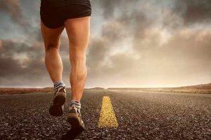 Tel-Aviv Marathon 2018-lone runner