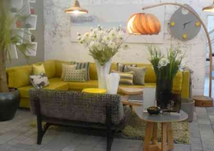 Home Styling tour14(yellow interior