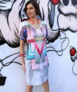 Tamar Ziv Pinks Dress Rev image
