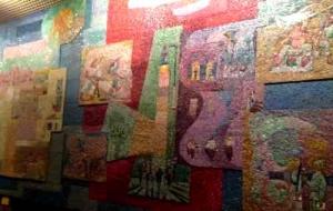 Shalom Tower -Gutman Mosaic 1