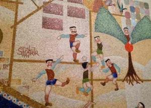 Shalom Tower -Sharir Mosaic4