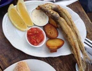asta-fried fish