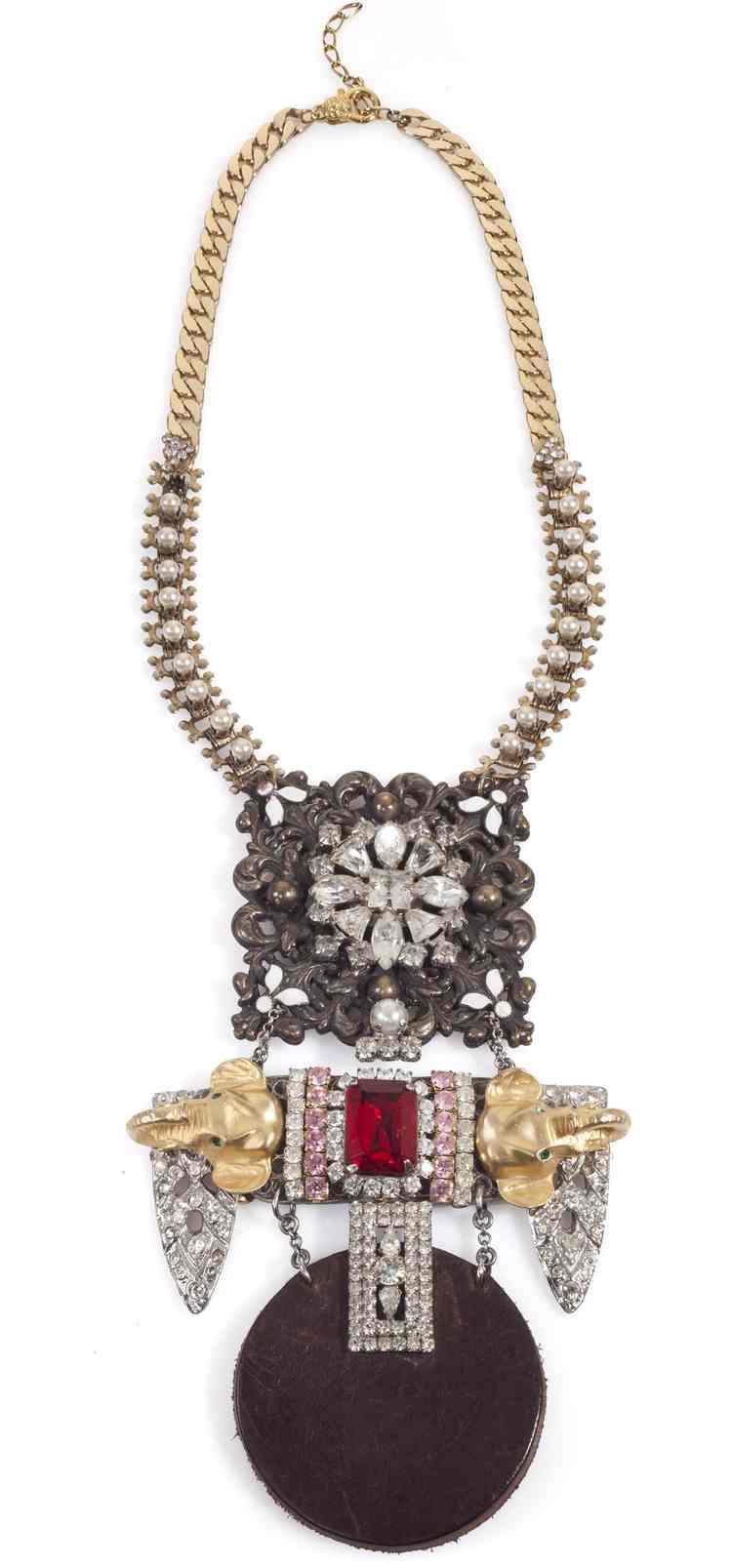 Unique by Galit -Redstone Raj necklace