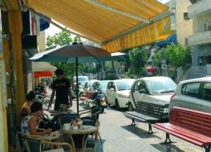 Bograshov- Urban life - St reet view- cafe1