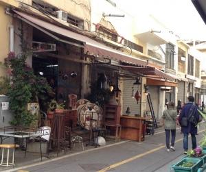 Jaffa Flea Market street