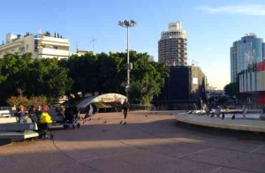 Dizengoff Square-Left side