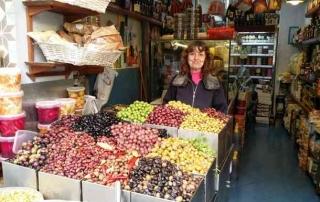 Levinsky market -Tel Aviv- Olive Store
