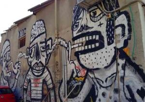 Tel Aviv-Grafitt & Streetart -Great B&W