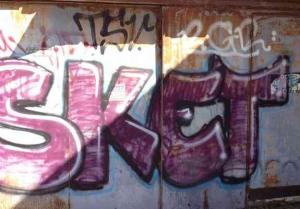 Tel Aviv-Grafitt & Streetart -Sket