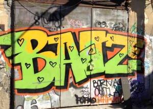 Tel Aviv-Grafitt & Streetart -baize
