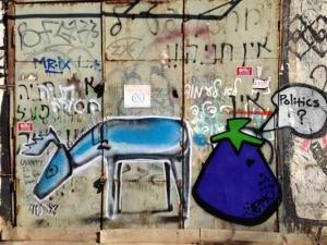 Tel Aviv-Grafitt & Streetart -politics